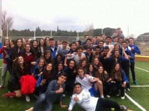 Elever på udveksling i Madrid