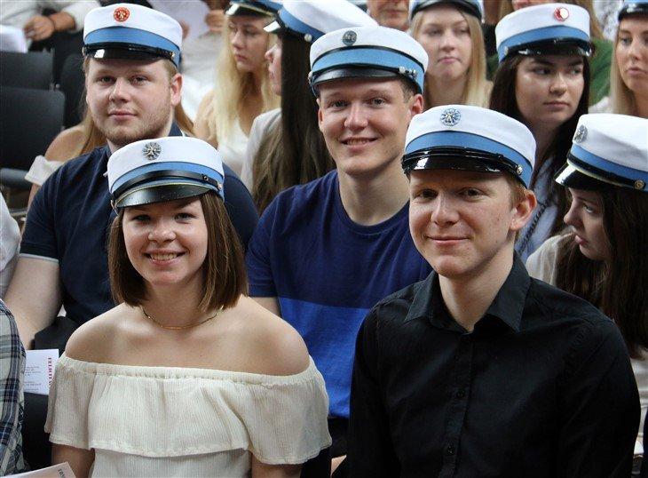 HF-studenter på Grenaa Gymnasium