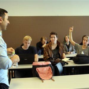Workshop om falske nyheder på Grenaa Gymnasium