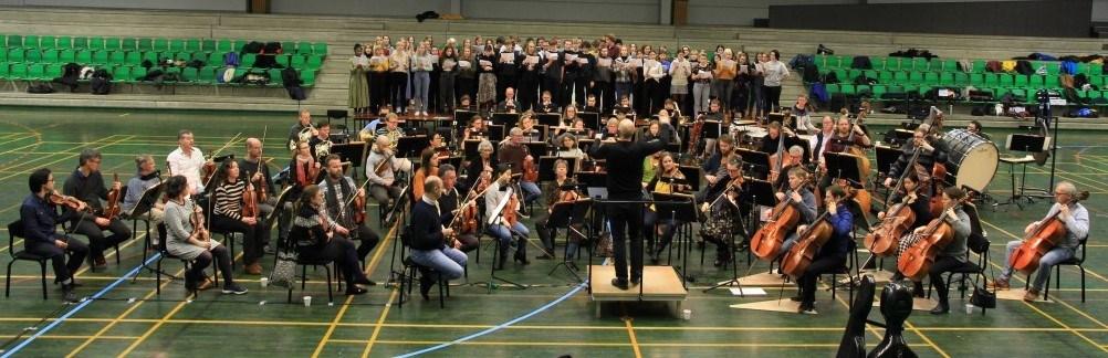 Aarhus Symfoniorkester på Grenaa Gymnasium