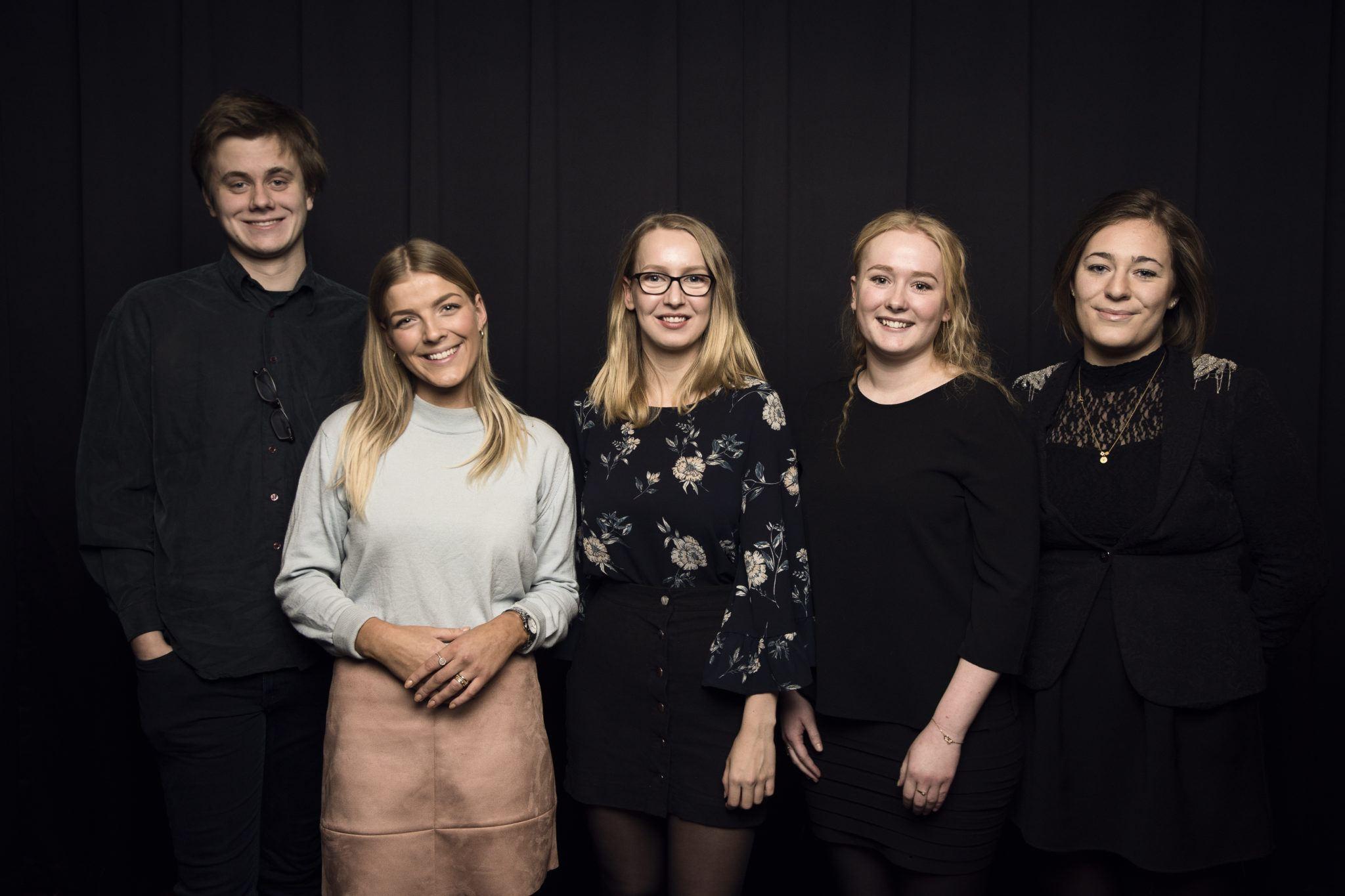 Fem elever fra Grenaa Gymnasium modtog diplom Akademiet for Talentfulde Unge 2018