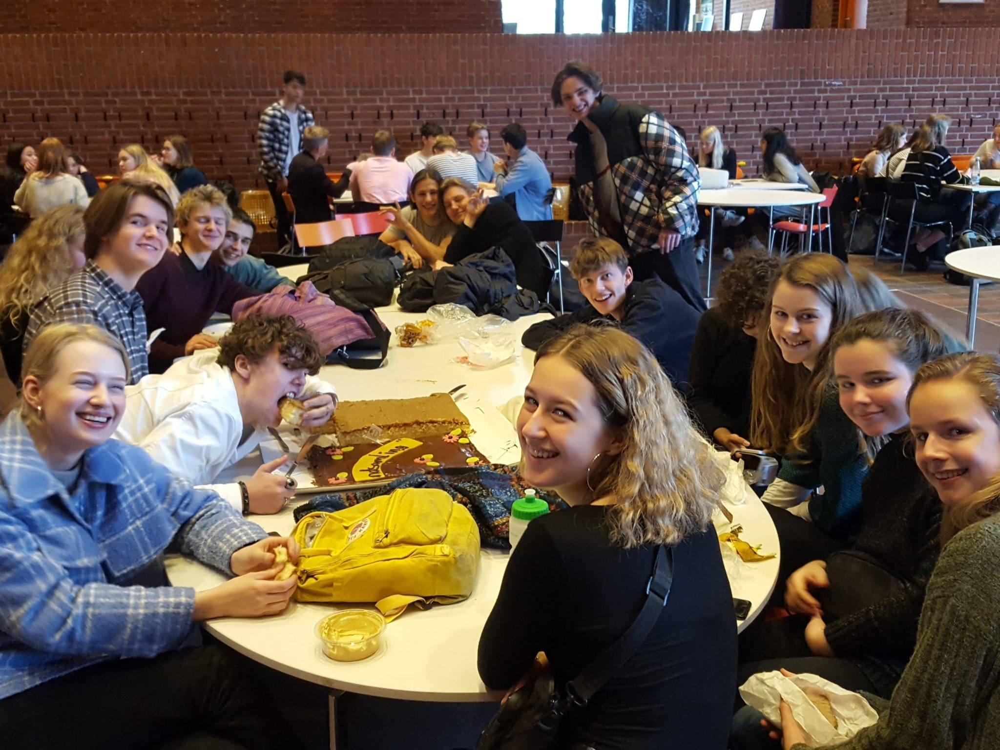 Danmarks største fredagscafé 2019 blev vundet af Grenaa Gymnasium