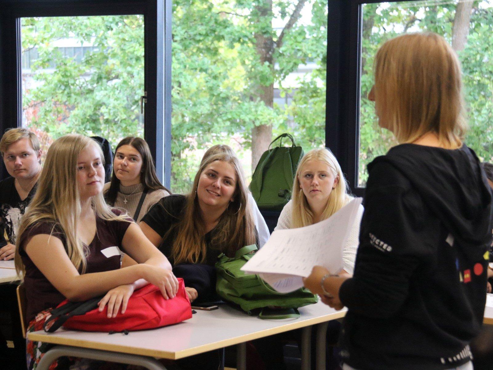 Nye elever på Grenaa Gymnasium 2018