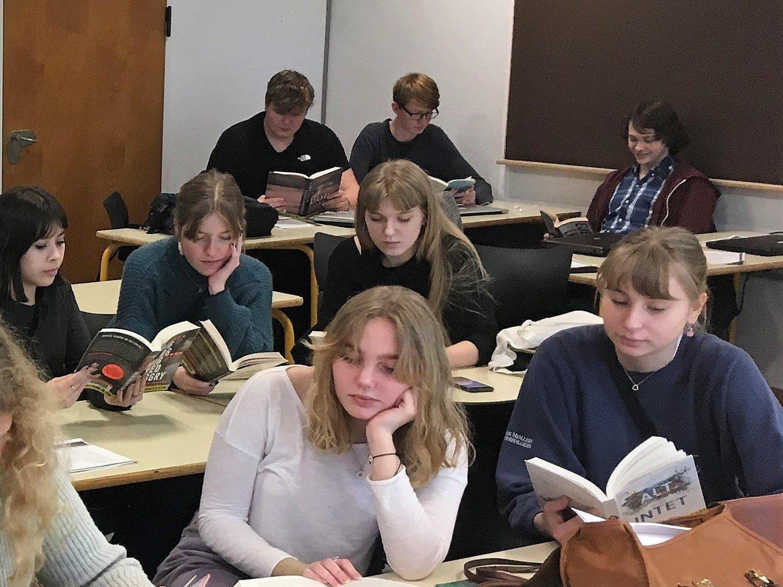 Frilæsning er et nyt studieforberedende tiltag på Grenaa Gymnasium