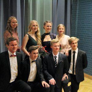 Gallafest 2018 på Grenaa Gymnasium