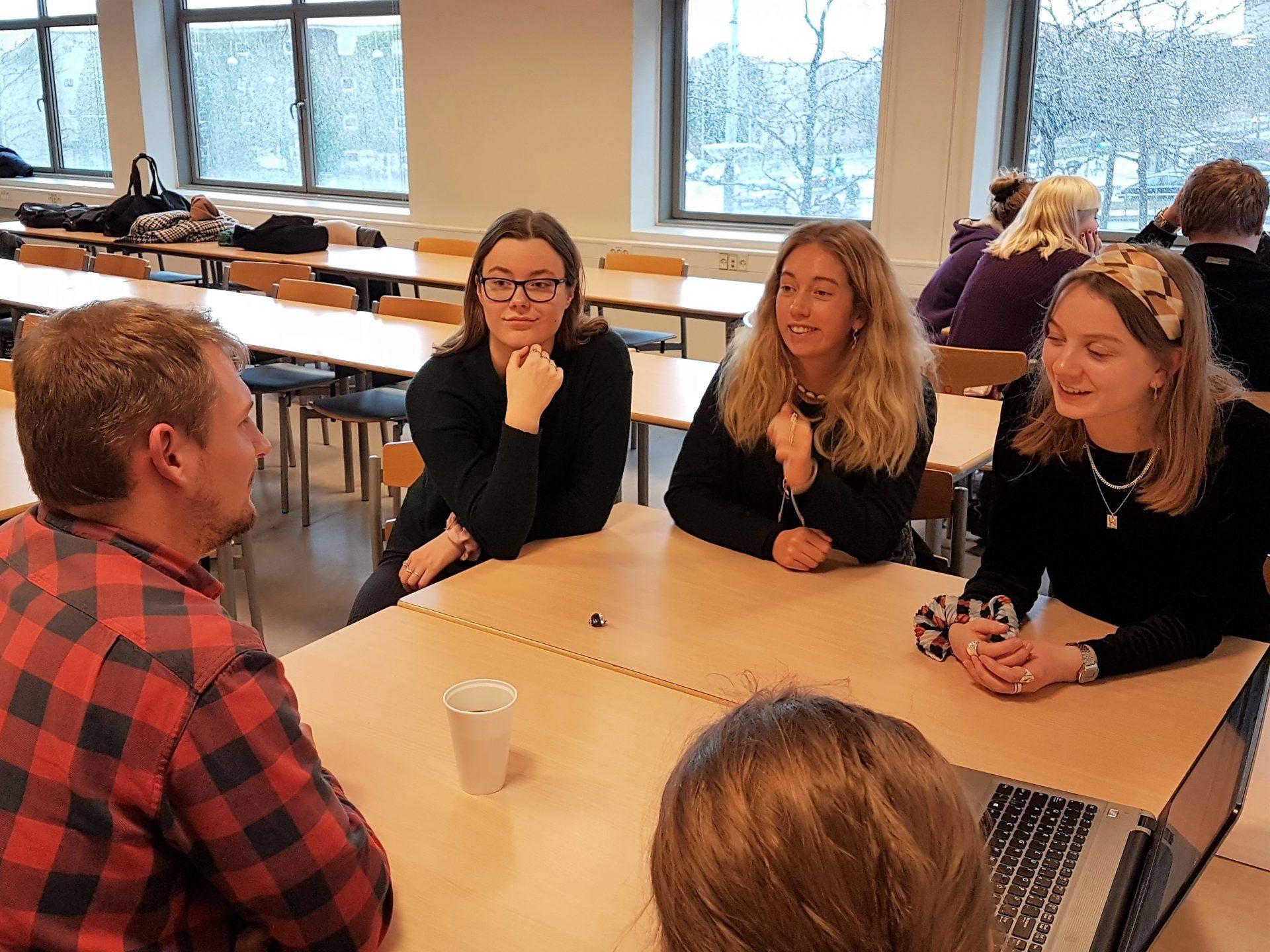 Tyskelever fra Grenaa Gymnasium på Aarhus Universitet