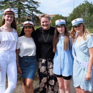 Årets første studenter 2019 på Grenaa Gymnasium