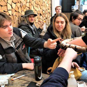 """IB""""students visit to Ree Park Safari"""