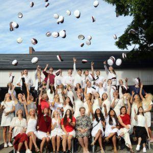 STX-studenter på Grenaa Gymnasium