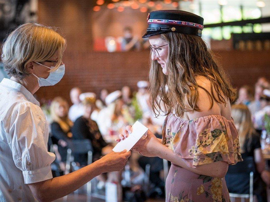 IB Diploma Cap Ceremony at Grenaa Gymnasium