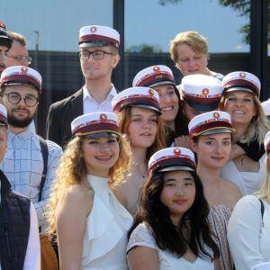 IB students 2018 at Grenaa Gymnasium