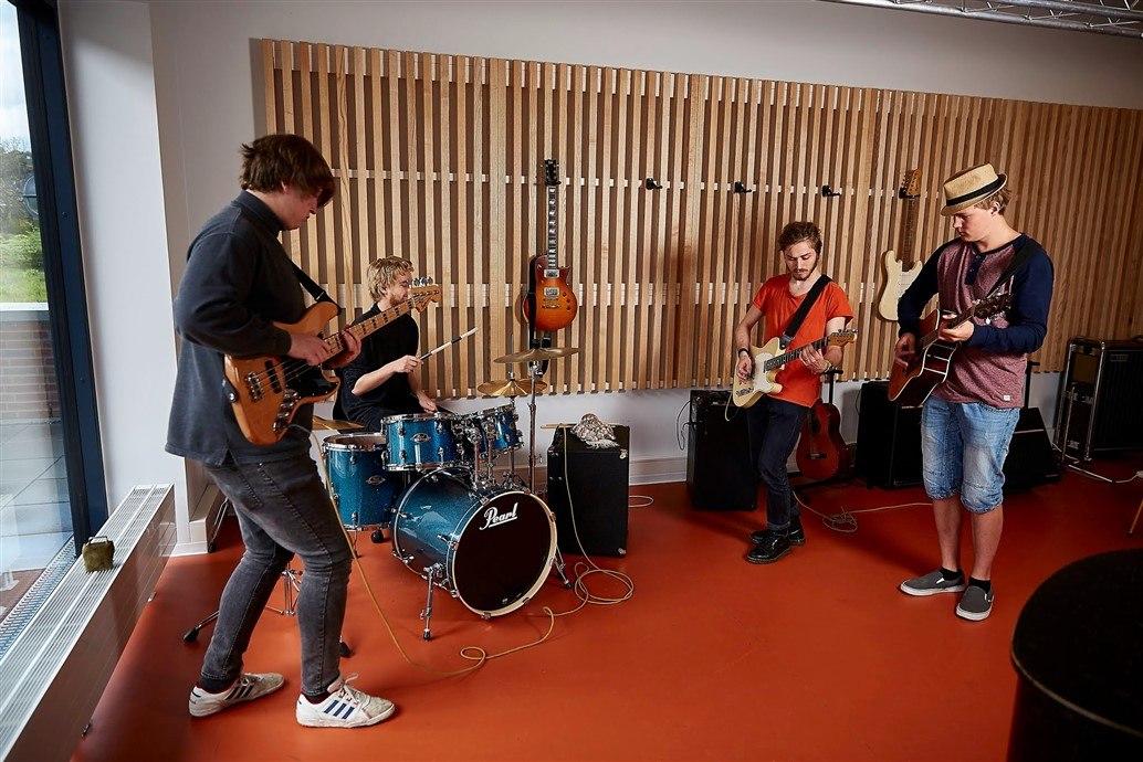 IB fag music på Grenaa Gymnasium