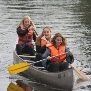 Idrætsdag 2018 i kano