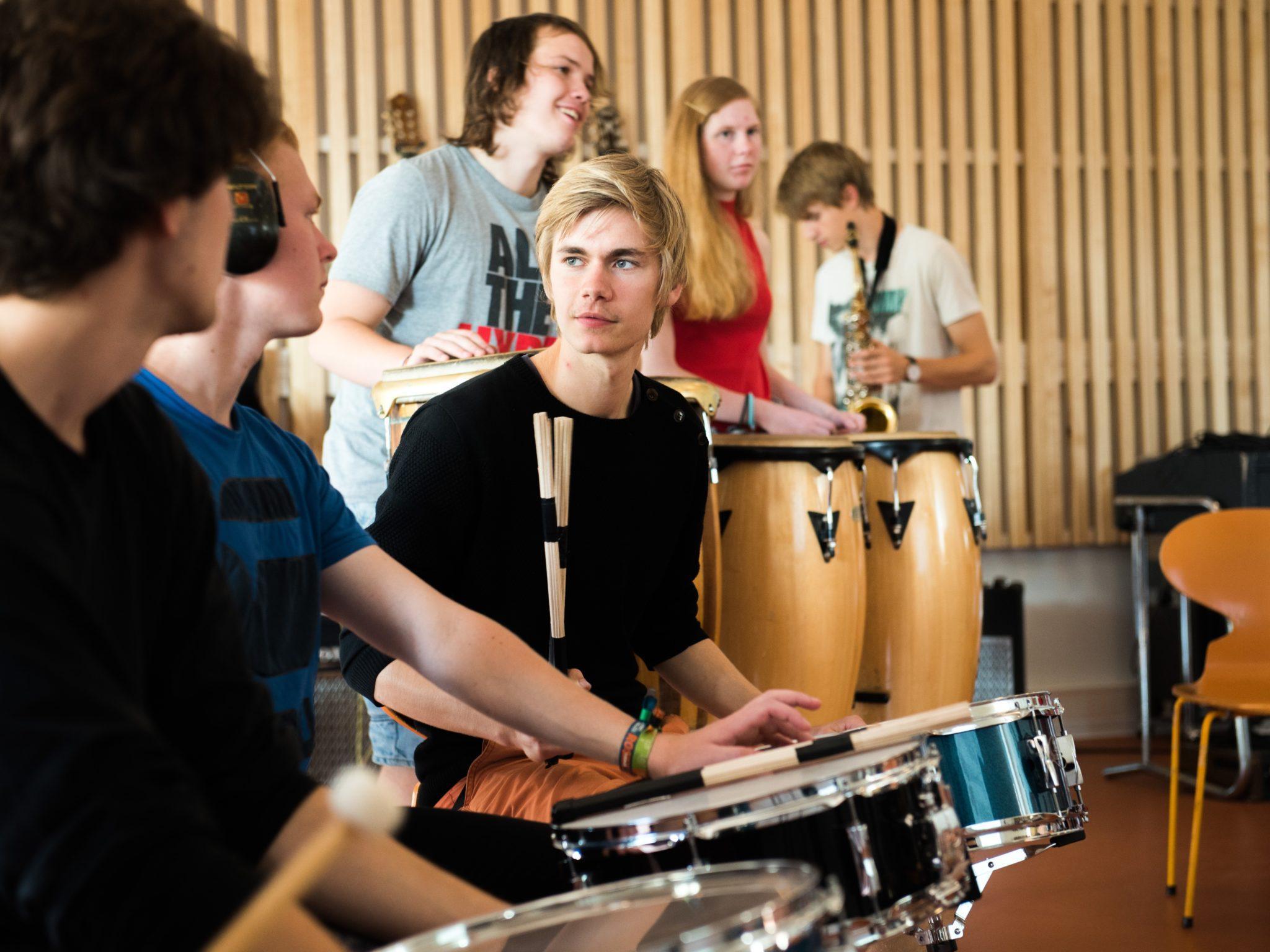 Grenaa Gymnasiums kostskole - musik