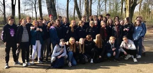 Elever fra Grenaa Gymnasium på udvekslingsbesøg i Lübeck