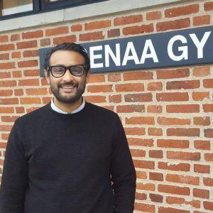 HF-leder på Grenaa Gymnasium Majurran Veethividangan
