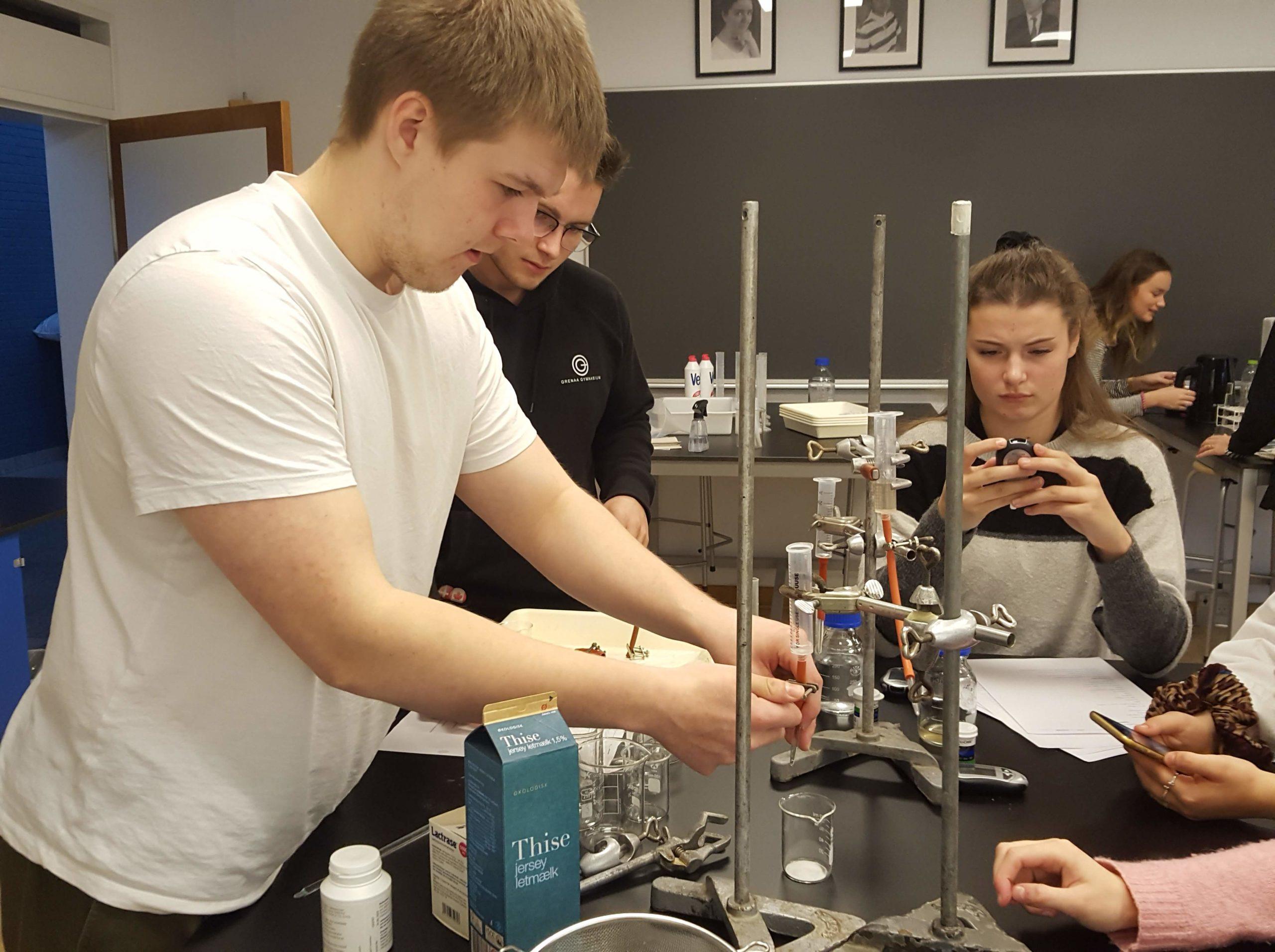 Erasmus+ financierer pædagogisk udvikling i naturvidenskab på Grenaa Gymnasium
