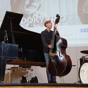 Niels Lan Doky Trio besøgte Grenaa Gymnasium