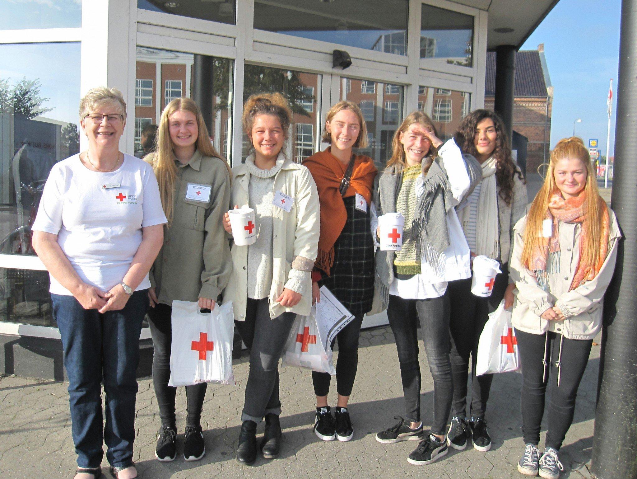 Røde Kors-indsamling 041015