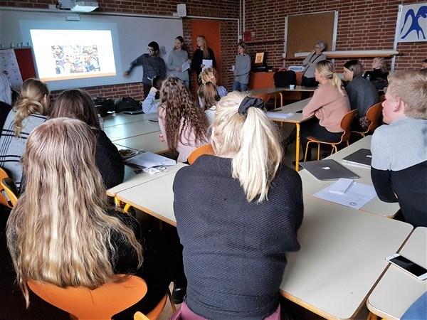 2.fremmedsprog på Grenaa Gymnasium.
