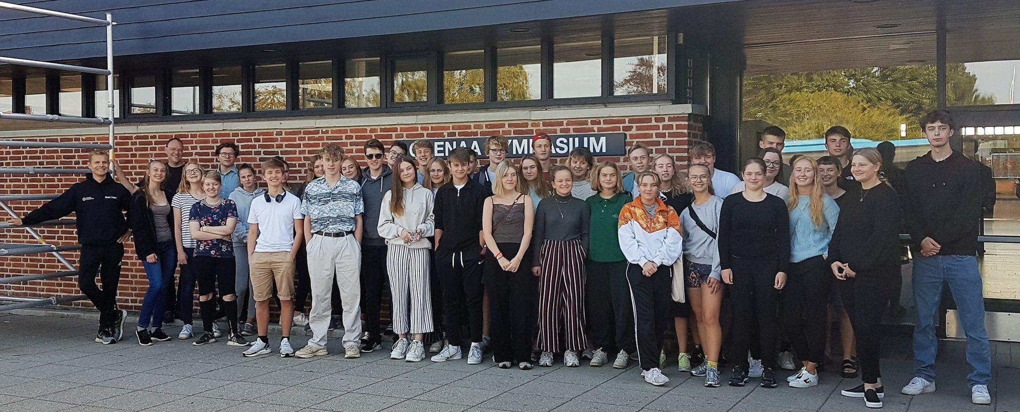 Grenaa Gymnasium fik besøg fra Thomas-Mann-Schule Lübeck